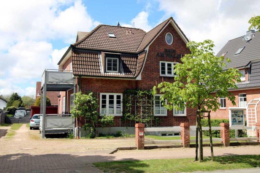 Außenansicht des Hauses (Wohnung unten links)