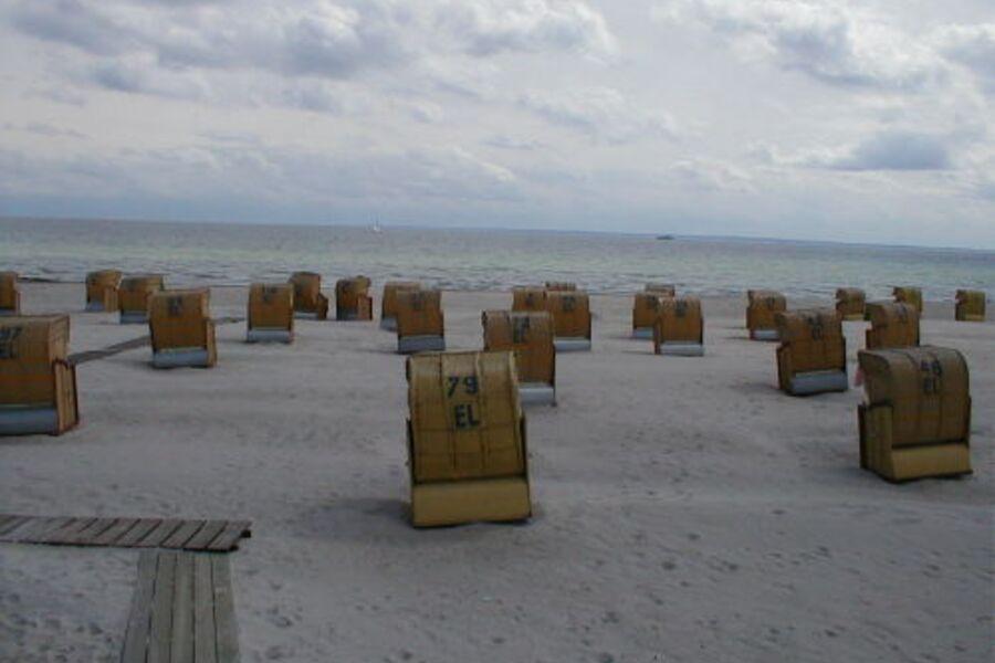Am Strand von Grömitz