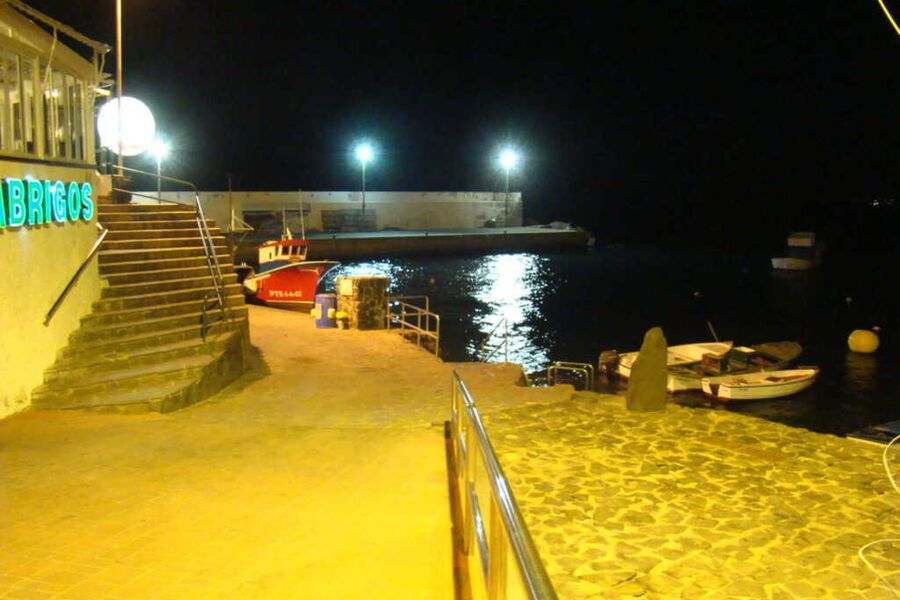 Casa Naranja im Hafen von Los Abrigos, Casa Naranj