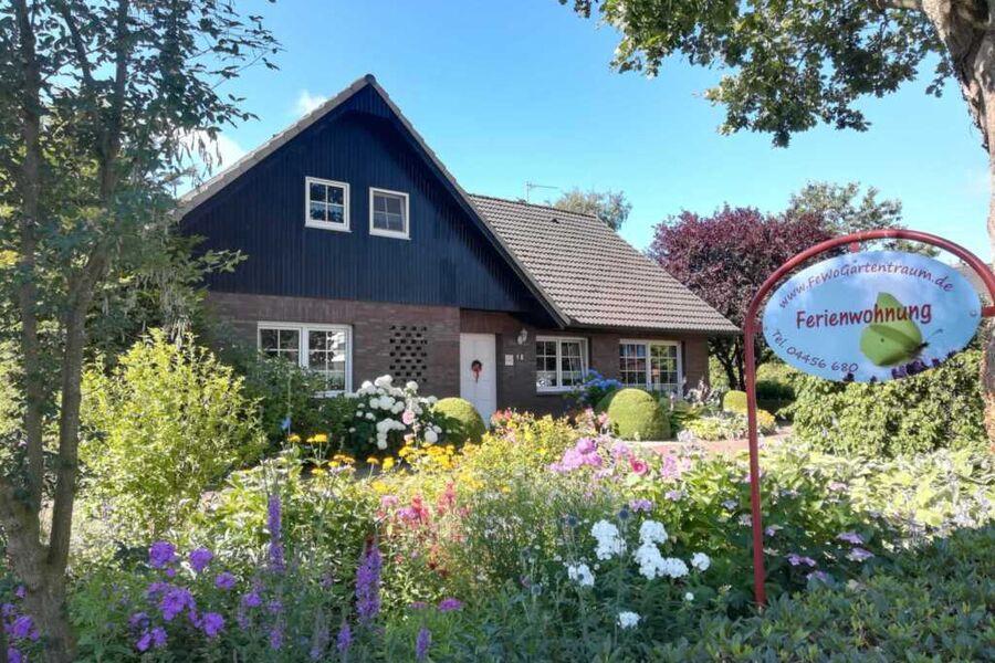 Ferienwohnung Gartentraum Friesland Varel Altjührd