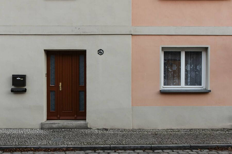 Eingang zum Haus