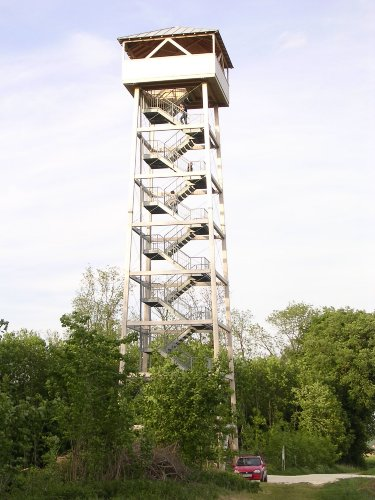 Römerturm in Offingen (25 m hoch)