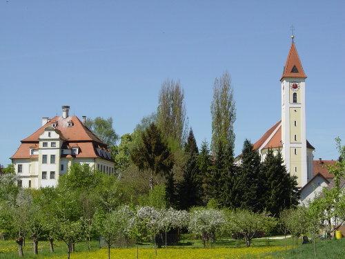Offinger Kirche und Schloß