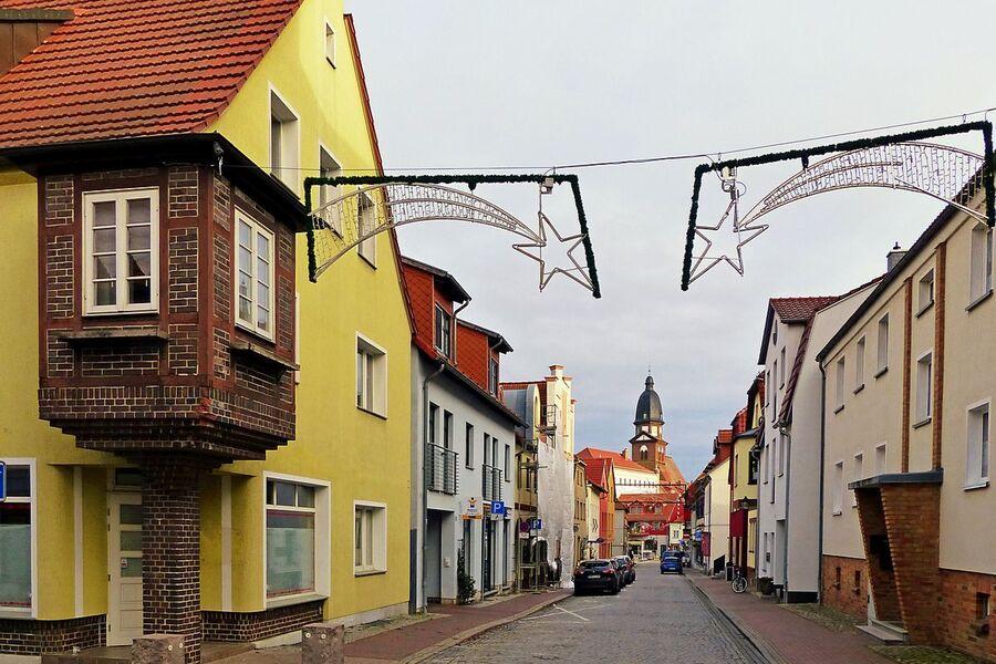 Altstadt zwischen der St.-Marien-Kirche