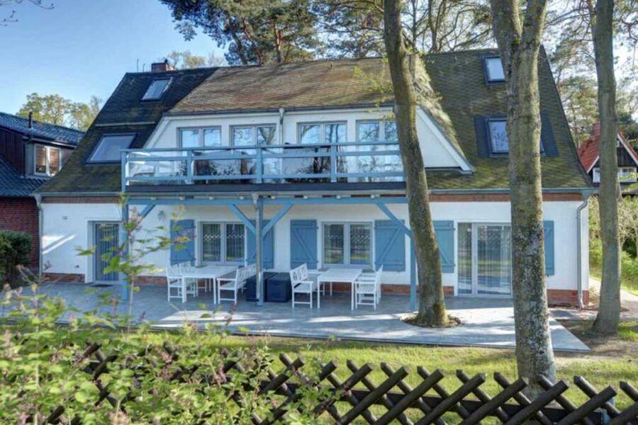 Strandhafer - Blick auf das Haus von der Strandpro