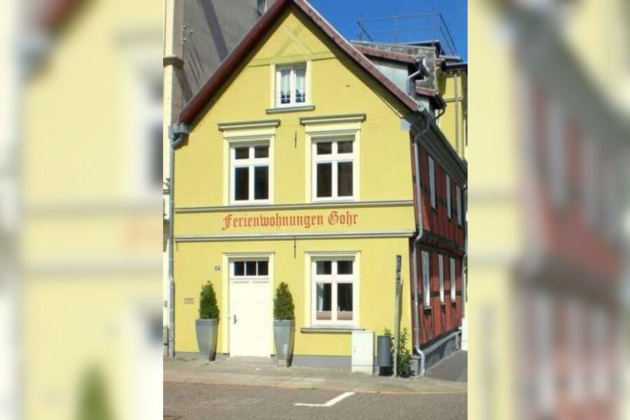 Frankenwall 26- Aussenansicht Ferienwohnung Villa