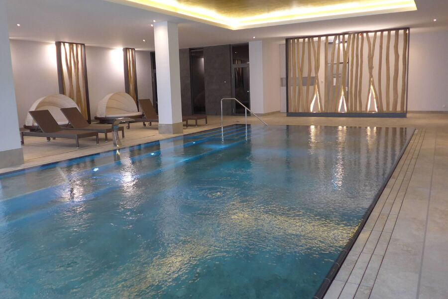 Suite mit Sauna und Pool