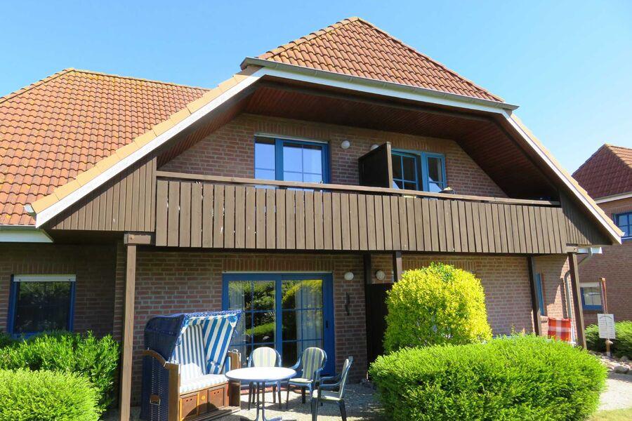 Wohnung im OG - windgeschützter Balkon