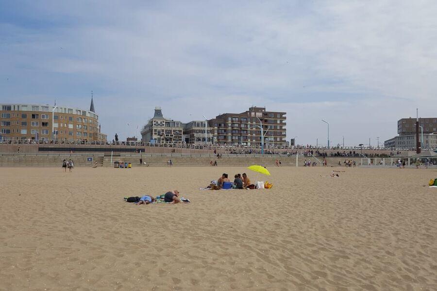 Blick vom Strand