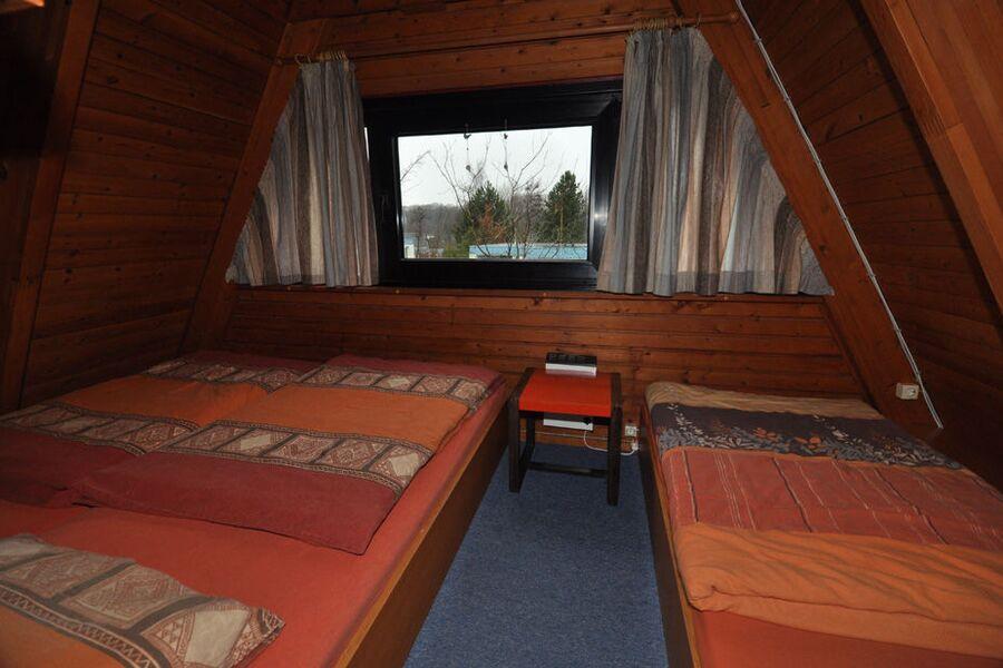 Zeltdachhaus Schlafzimmer