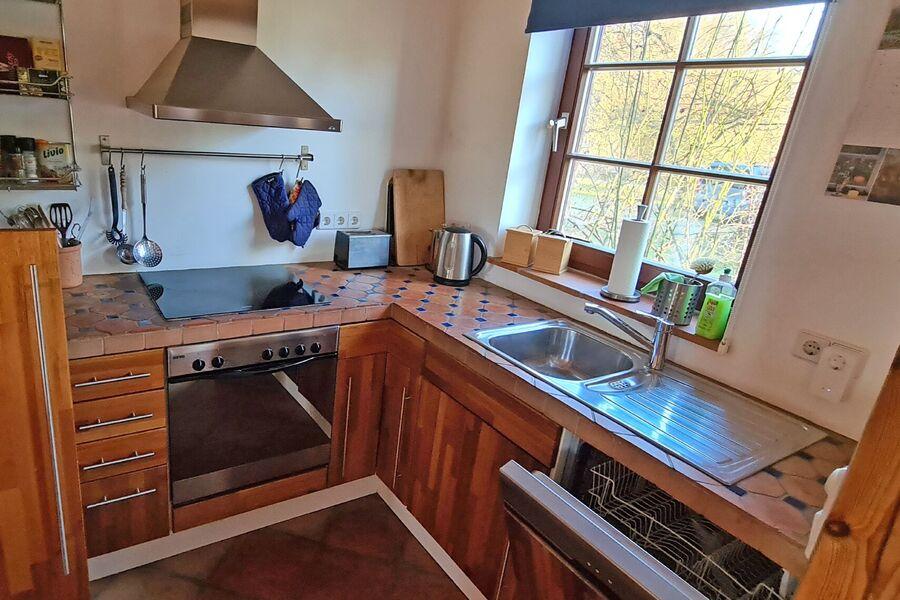 Küche im Ferienhaus