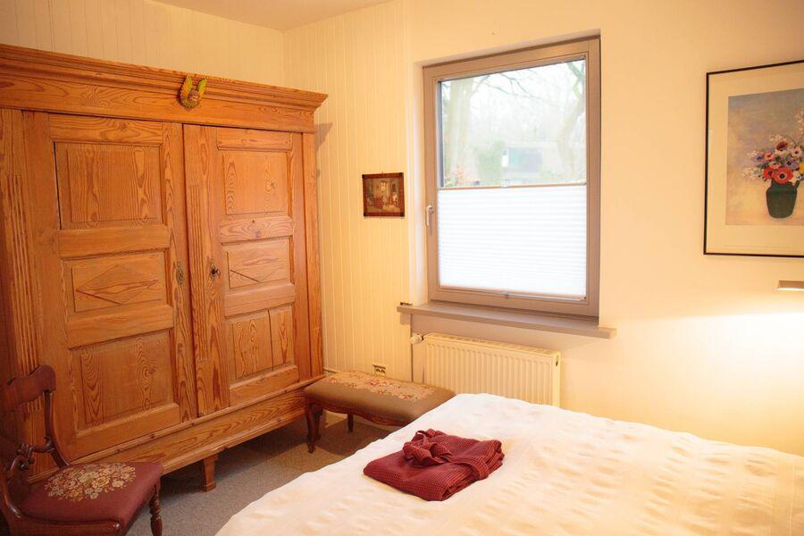 Schlafbereich des Wohn-/Schlafzimmers