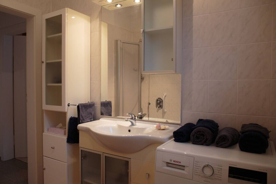 Badezimmer, klein aber fein
