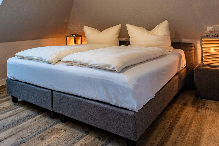 Moderner Wohn- und Kochbereich