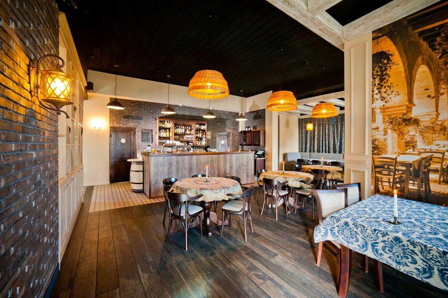 Restaurant vor Ort