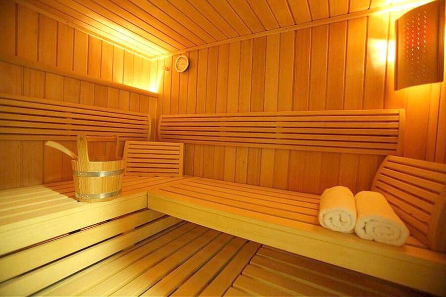 Sauna vor Ort
