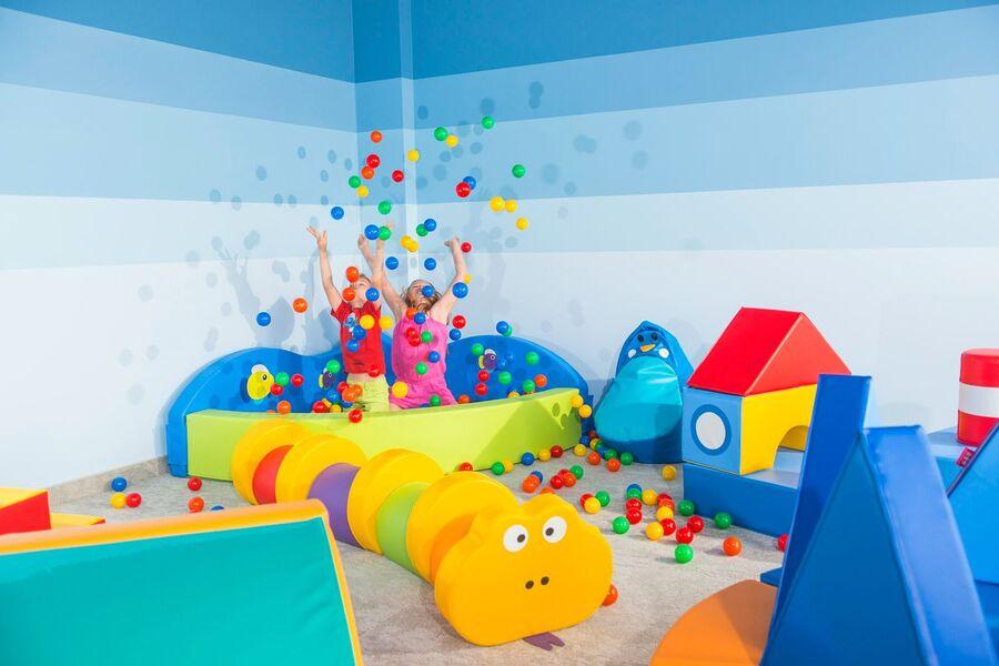 Indoor Spielzimmer für Kinder