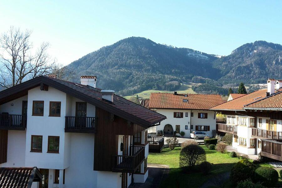 Blick vom Wohnzimmer Balkon nach Süden