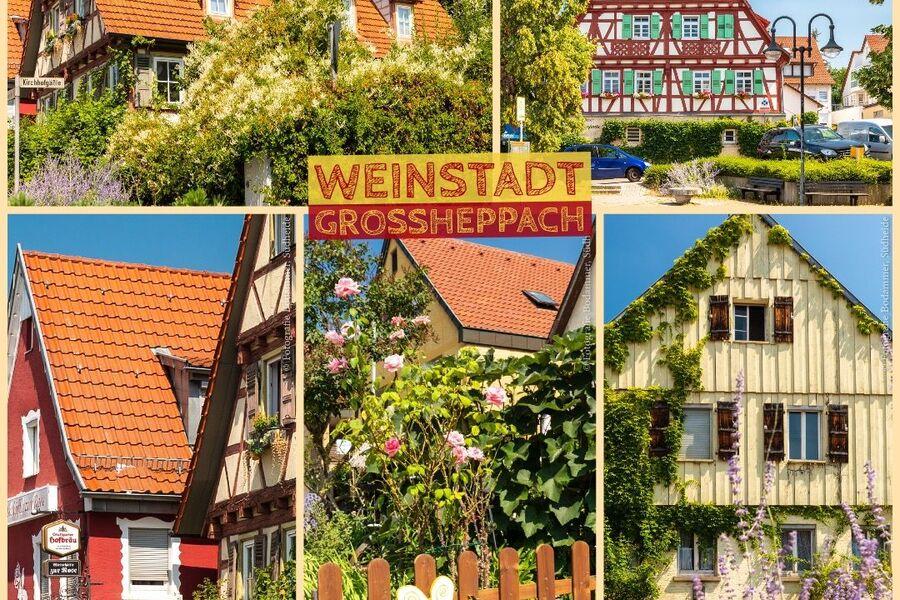 Malerischer Weinort Großheppach