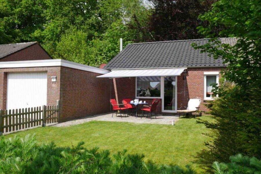 Gartenansicht Haus