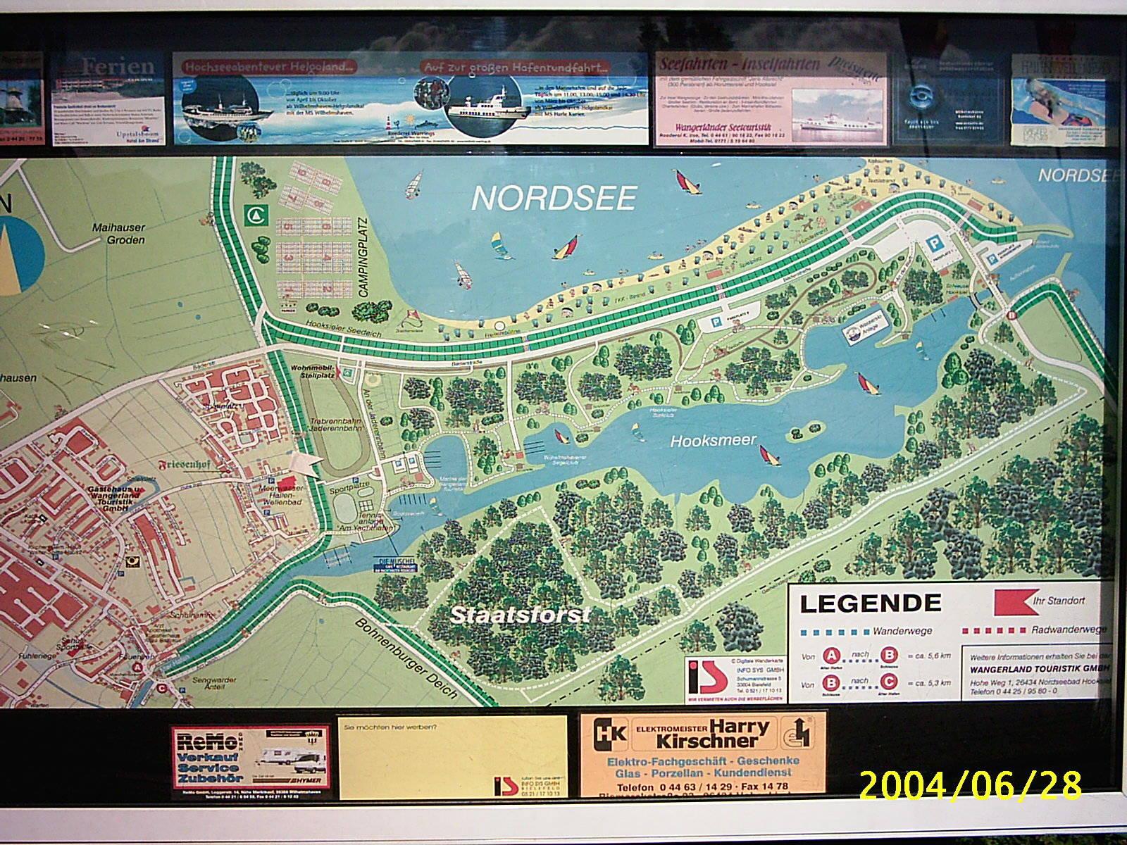 Nordsee Karte Niedersachsen.Ferienwohnung Gerlach In Hooksiel Niedersachsen