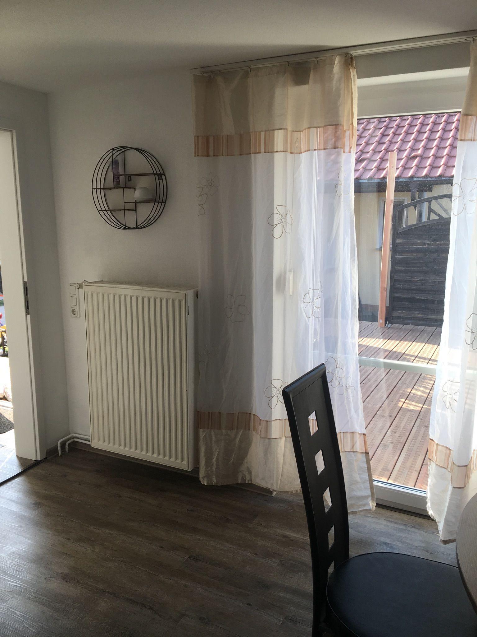 Wohnzimmer Zugang zur Terasse
