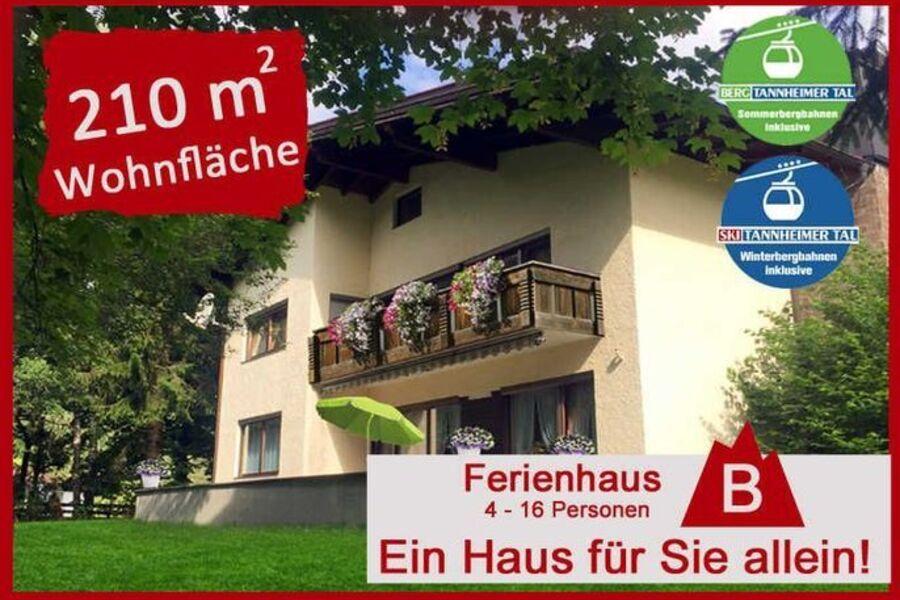 Ferienhaus Lindner B - ein Haus für Sie allein!, F