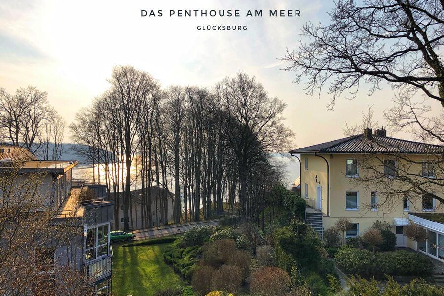 Das Penthouse - Logenplatz an der Förde