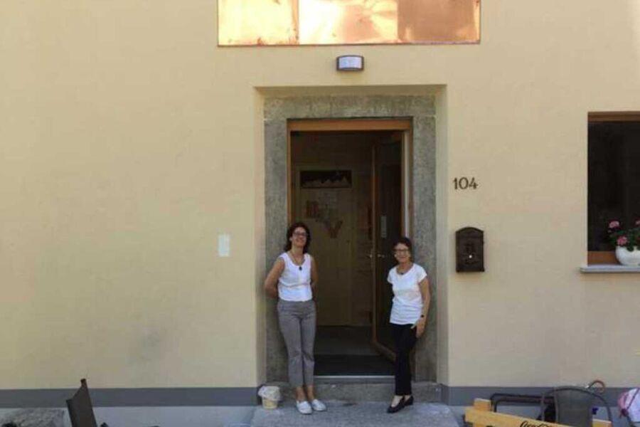 Vecchiascuola di Pianazzola, Wohnung mit Schlafsof