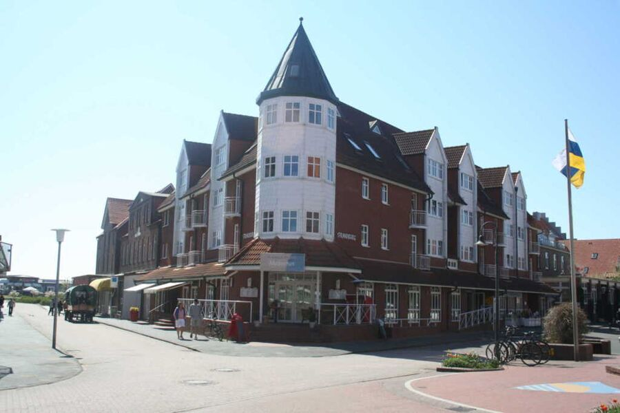 Inselresidenz Strandburg Außenansicht