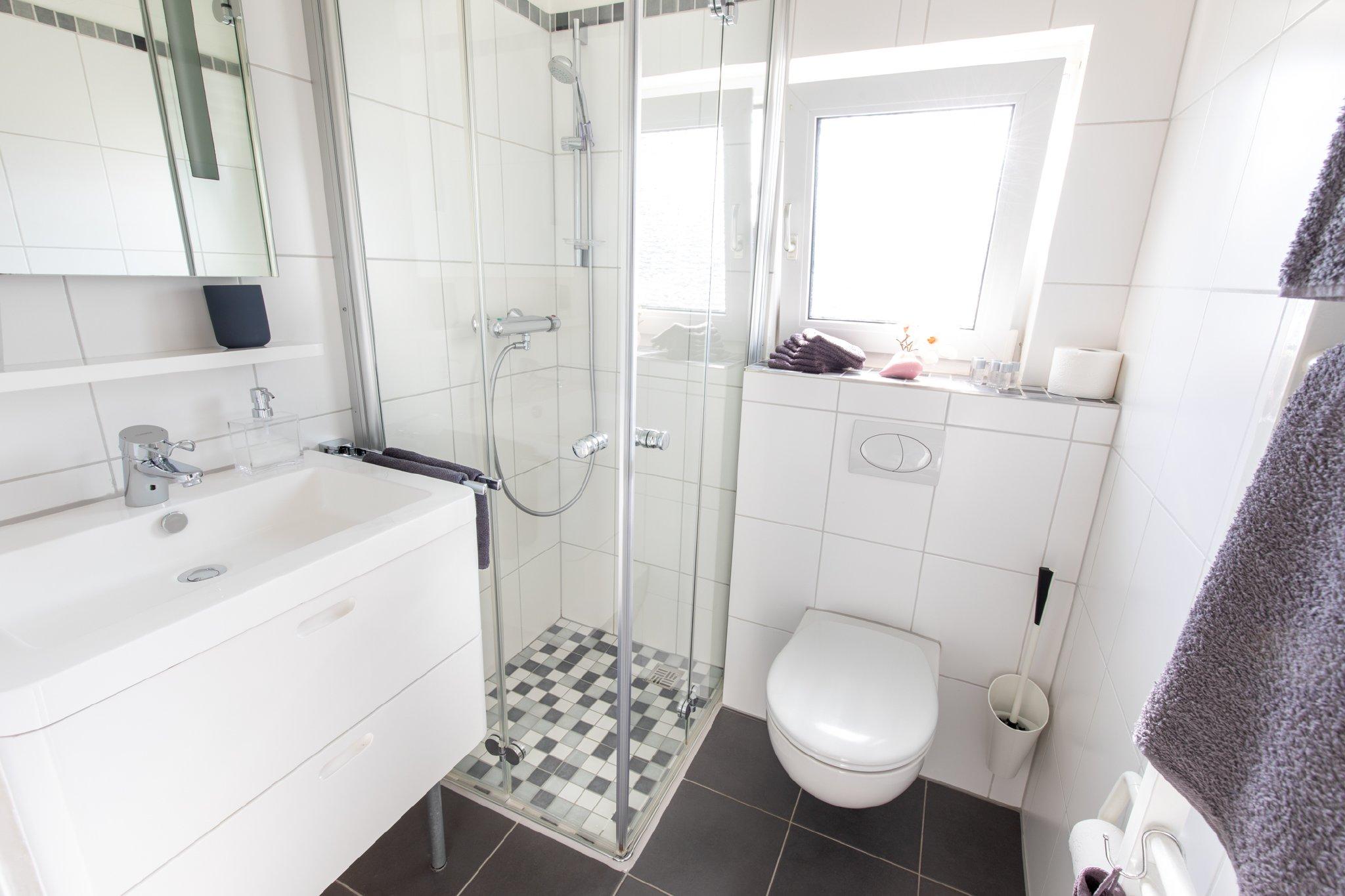 Das modernisierte Bad im 1.OG