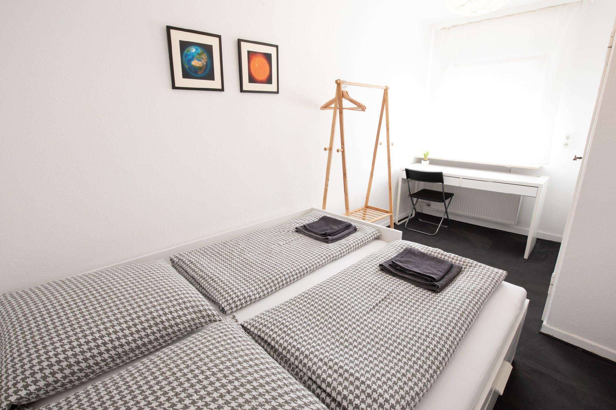Kleines Schlafzimmer im 1. OG