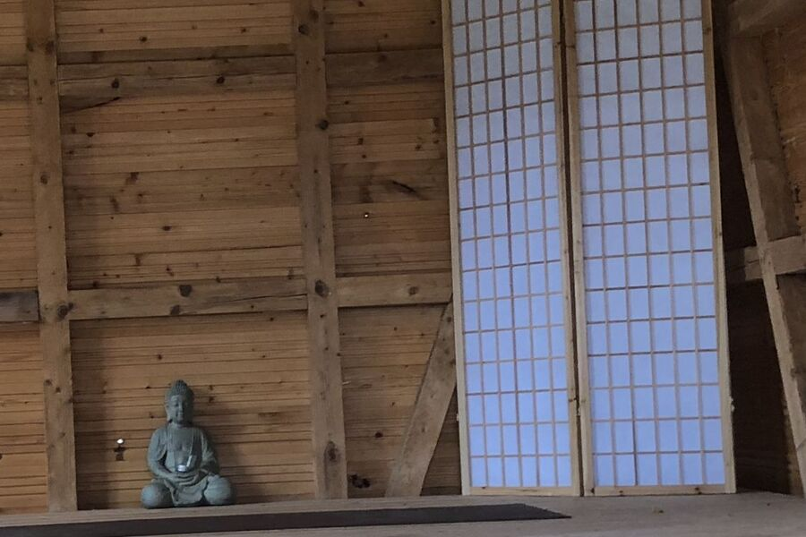 Yoga und Meditationshäusschen