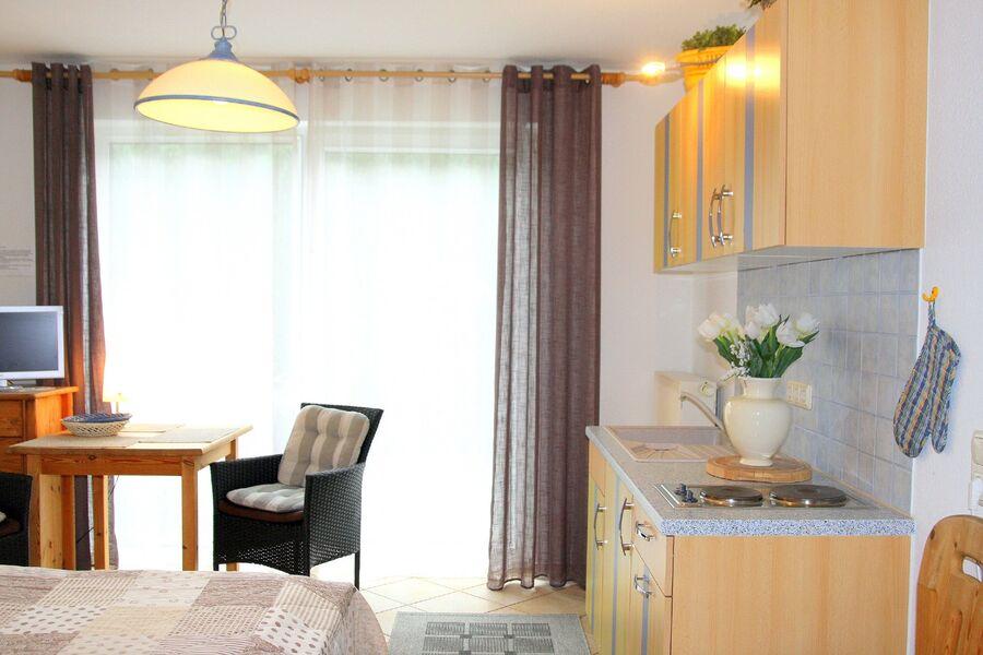 1-Raum-Appartement mit Terrasse