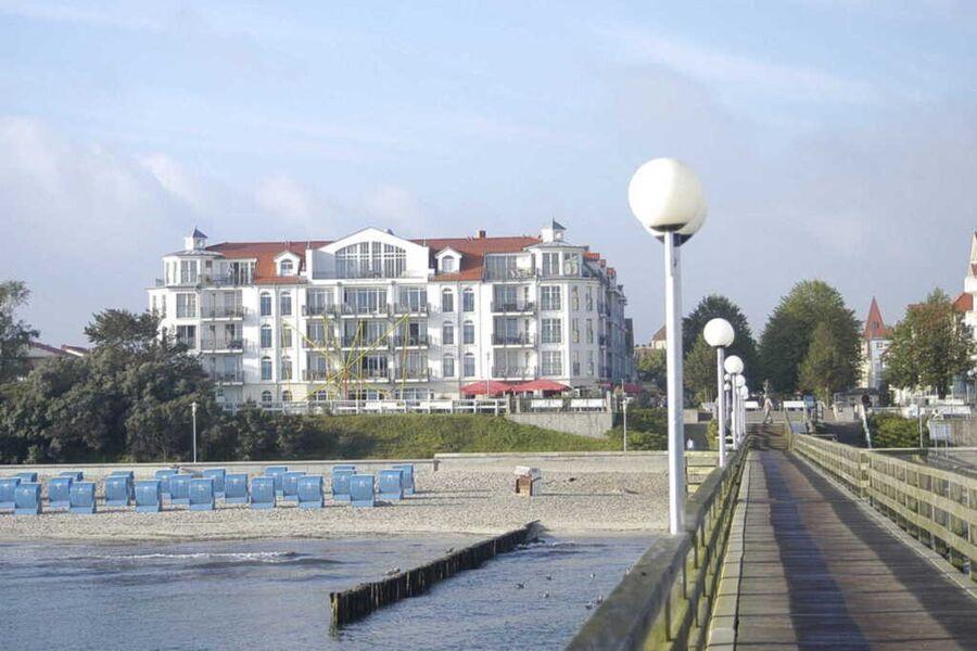 Apartmentanlage direkt am Ostseestrand und mit Bli