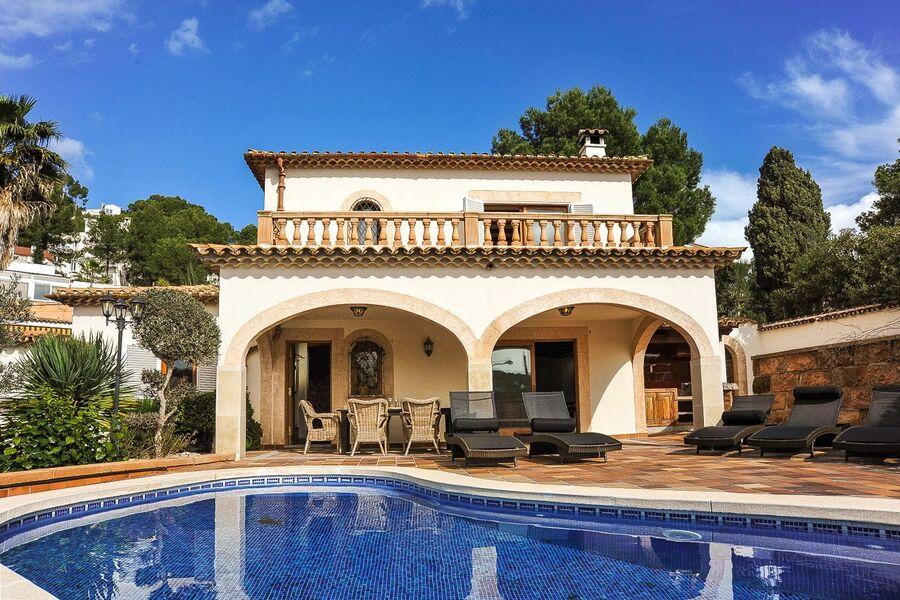 Das Ferienhaus mit Pool Terrasse