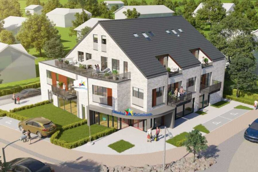 Neues Störtebekerhaus aus der Vogelperspektive