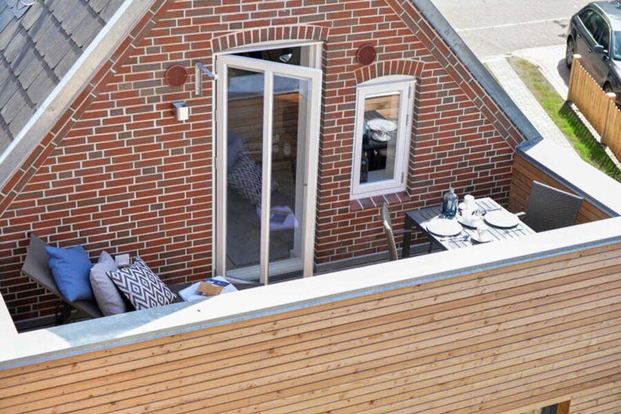 Balkon der Kapitänskajüte
