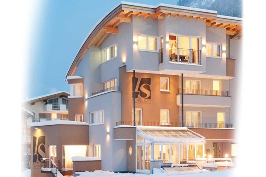 Außenansicht Ischgl Suite