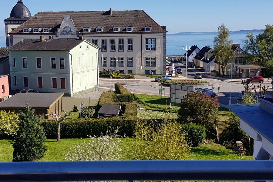 KREIDEFELSEN - Blick vom Balkon