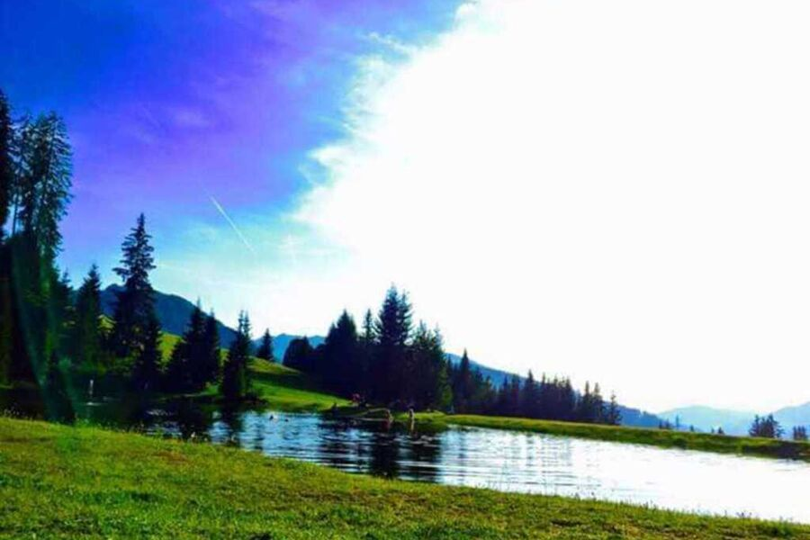 Unser hauseigener Bergsee