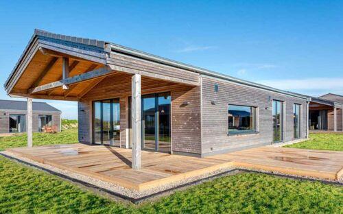 Gud Jard Lodge Nr. 17, Wohngesundes Designferienhaus mit exklusiver Ausstattung