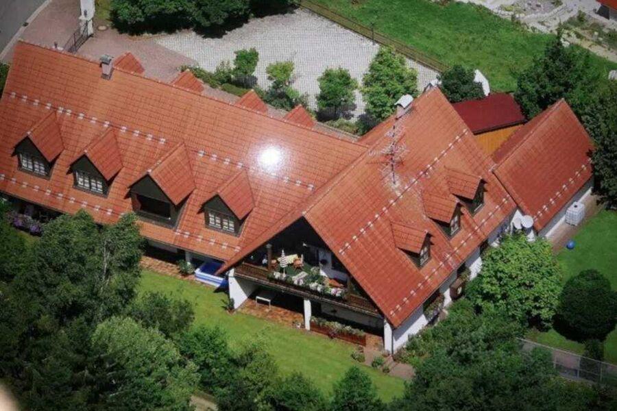Luftbild Ferienhaus Herzogwind
