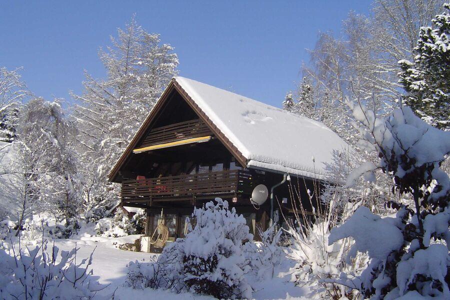 Haus Meran im Winter