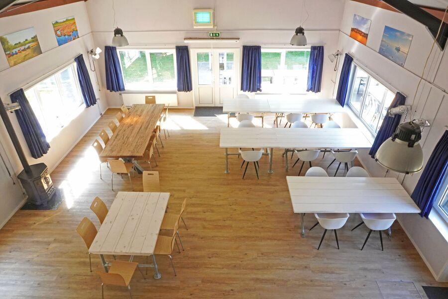 Gruppenunterkunft Den Osse - Wohnzimmer
