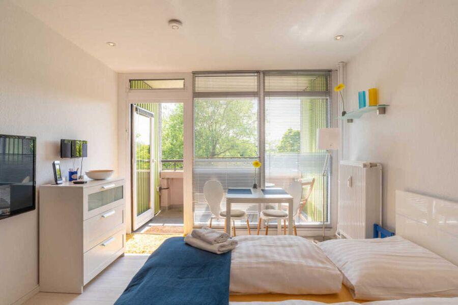 Ferienwohnung Smaland Wohn-Schlafbereich