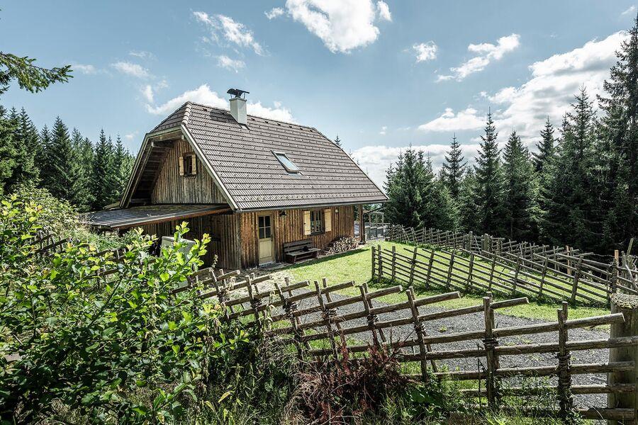 Die Leiwaldhütte am Klippitztörl