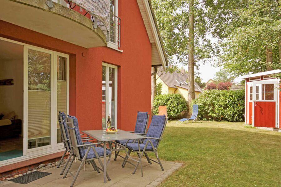 Ferienwohnung Möwennest mit Terrasse und Garten