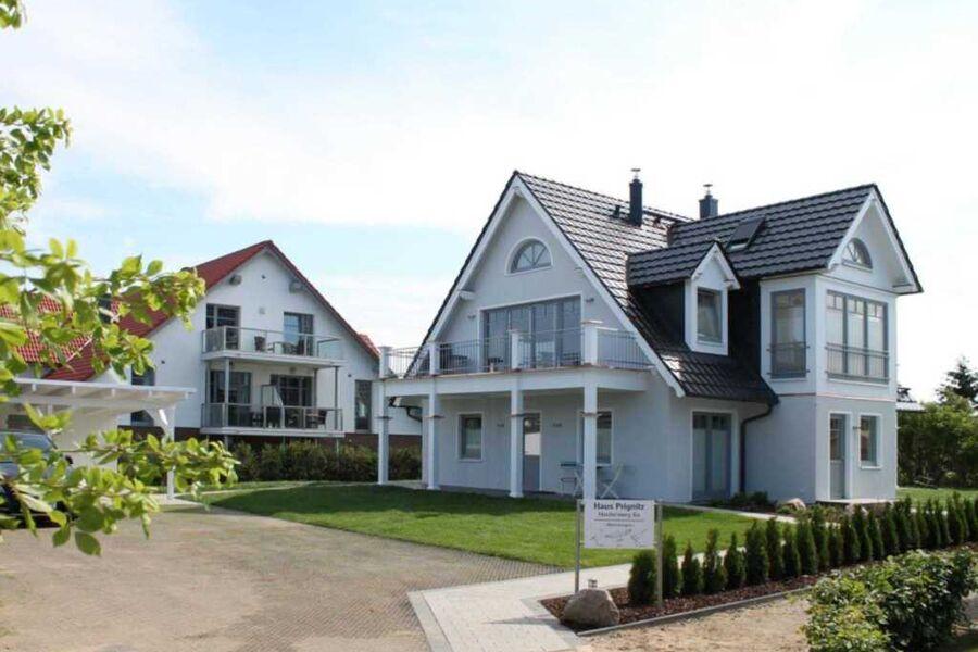 Haus Prignitz - Blick auf das Haus von der Seeseit