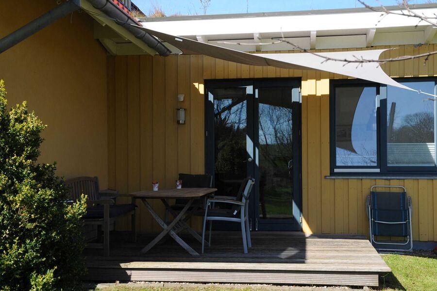 Terrasse De lütte im gulen Hus